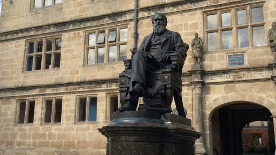 Exploring Darwin's Shrewsbury